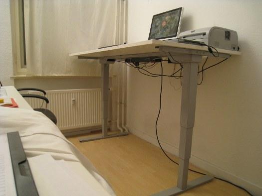 Steh-Höhe - Steh-Stitz Schreibtisch für's Büro | Mini GmbH Blog